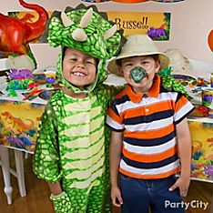 Prehistoric Dinosaurs Party Dress-Up Ideas