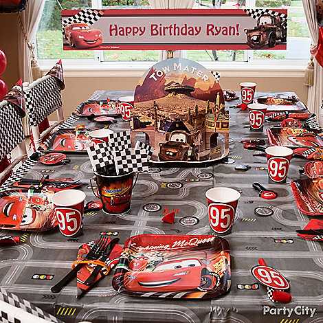 Cars Party Ideas: Decorating