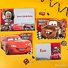 Cars Party Invitation Ideas