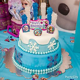 Arendell icious Frozen Cake How To Party City