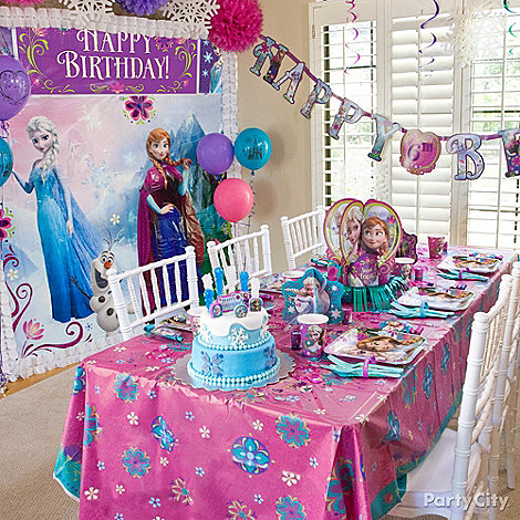Frozen Party Ideas - Party City