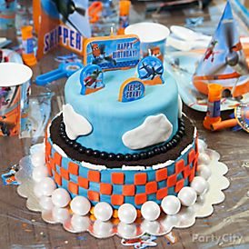 High Flying Planes Cake How To Party City