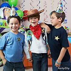 Toy Story Party Dress-Up Ideas