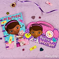 Doc McStuffins Party Invitation Ideas