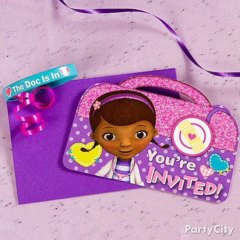 Doc McStuffins Ideas: Invitations