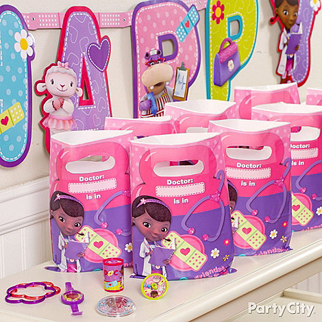 Doc McStuffins Ideas: Favors