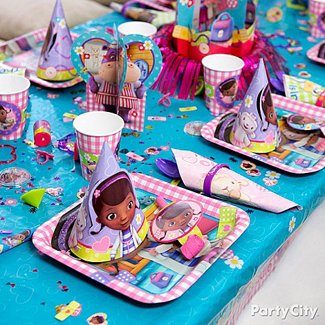 Doc McStuffins Party Ideas: Decorations