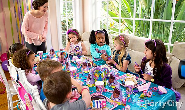 Doc McStuffins<br /> Party Ideas!