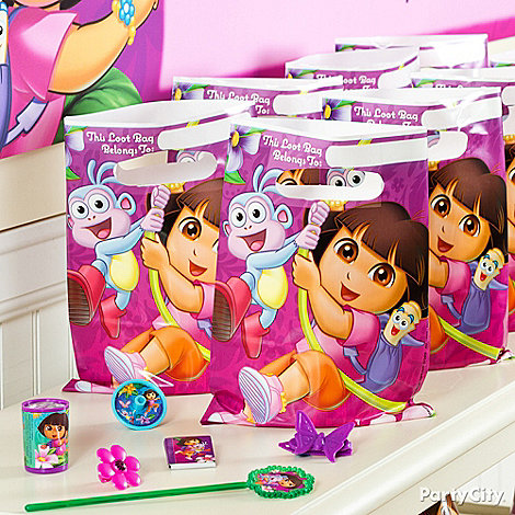 Dora Party Ideas: Favors