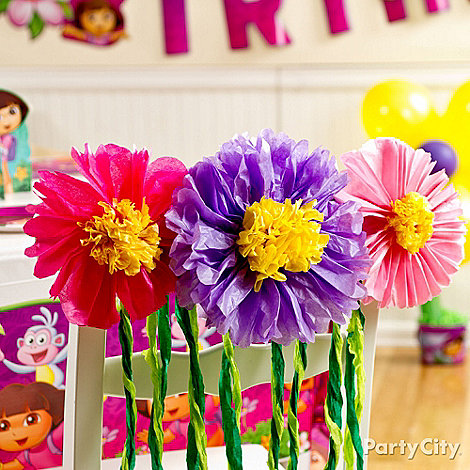 Dora Party Ideas: Decorating