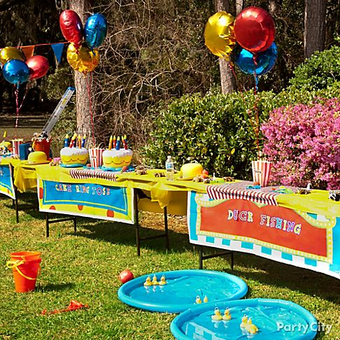 Carnival party ideas gallery party city for Festival decoration ideas