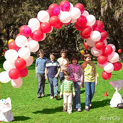 How to make a balloon arch car interior design for How to build a balloon arch