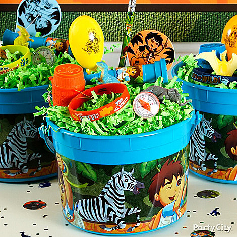 Go, Diego, Go! Party Ideas: Favors
