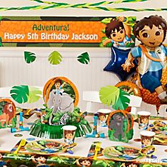<i>Go, Diego, Go!</i> Party Decorating Ideas