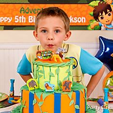<i>Go, Diego, Go!</i> Party Cake & Food Ideas
