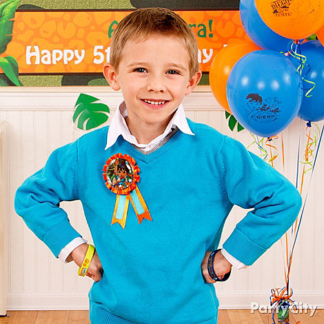 Go, Diego, Go! Party Ideas: Dress-Up