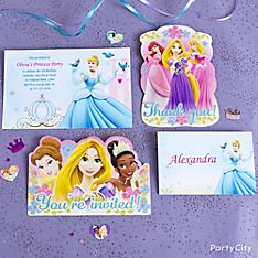 Disney Princess Party Invitation Ideas