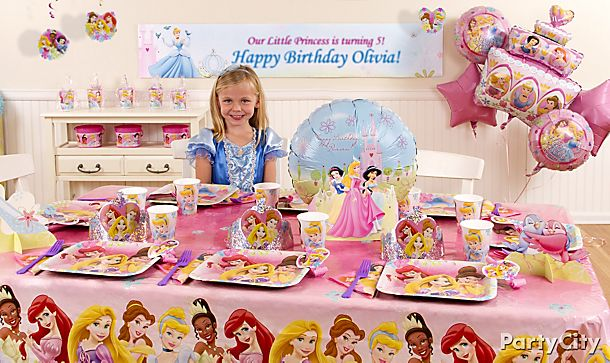 Disney Princess <br /> Party Ideas!