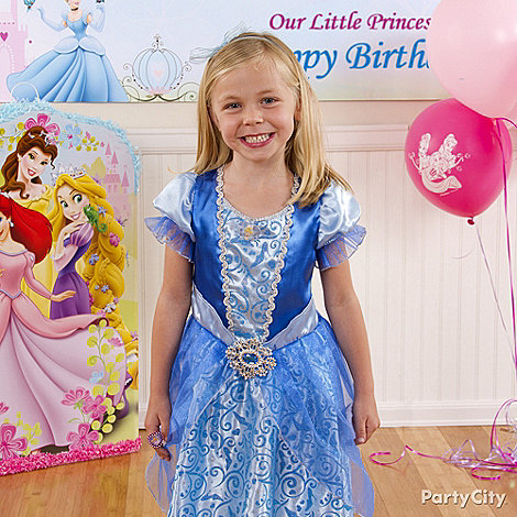 Disney Princess Party Ideas: Costume & Dress-Up