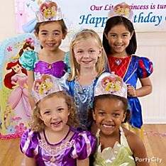 Disney Princess Party Dress-Up Ideas
