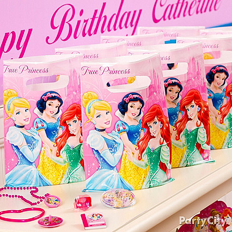 Disney Princess Party Ideas: Favors
