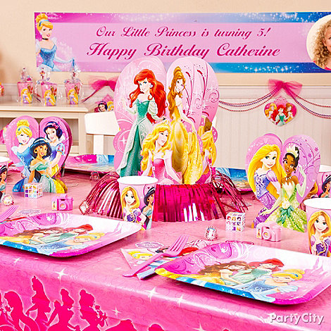 Disney Princess Party Ideas: Decorating