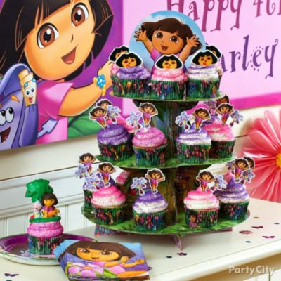Dora the Explorer Party Ideas Dora Birthday Ideas Party City
