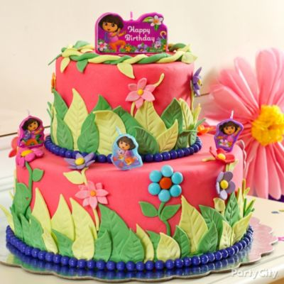 Diego Dora Birthday Cake Topperebay Birthday Party Ideas