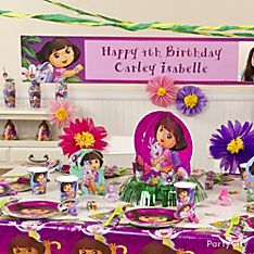 Dora Party Decorating Ideas