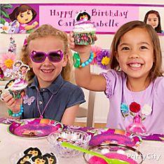 Dora Cake & Cupcakes Ideas