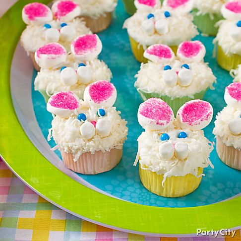 Easter Bunny Cupcake Decorating Ideas