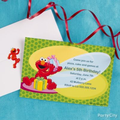 Elmo Birthday Party Ideas Party City