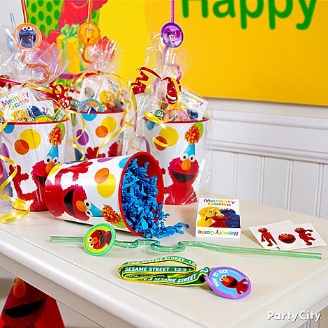 Elmo Party Ideas: Favors