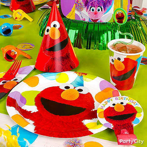 Elmo Party Ideas: Decorating