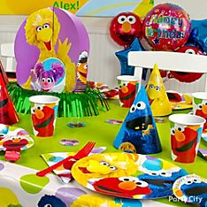 Elmo Party Decoration Ideas