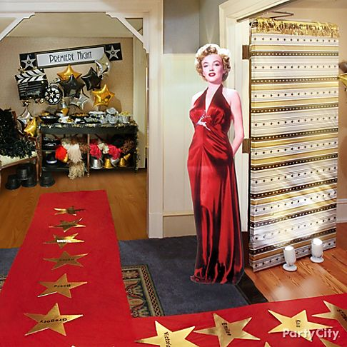 Hollywood Red Carpet Party Ideas