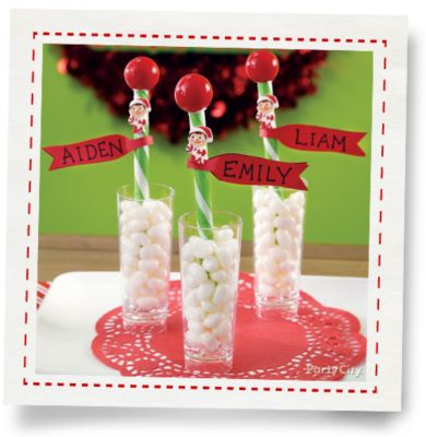 Elf On The Shelf Personalized Candy Stick Party City