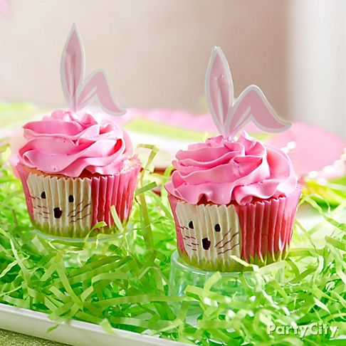 Pink Bake Sale Ideas http://www.partycity.com/content/easter+tablescapes+centerpieces+pink+and+green.do