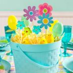 Beautiful Blue Easter Tablescape Ideas