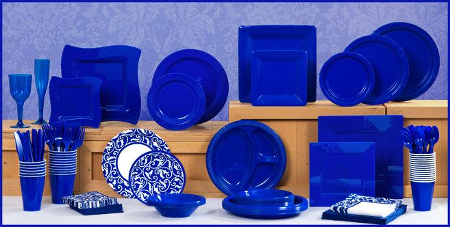 royal blue tableware striking and elegant our royal blue tableware .  sc 1 st  Table Decorations & Royal Blue And Black Table Decorations Photograph | royal bl