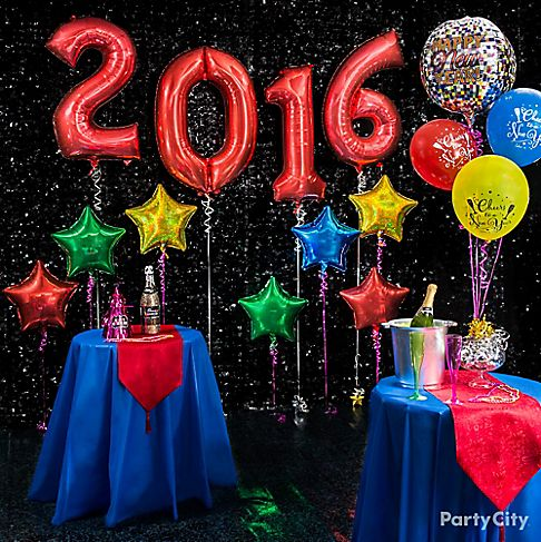 colorful new year decoration - photo #22