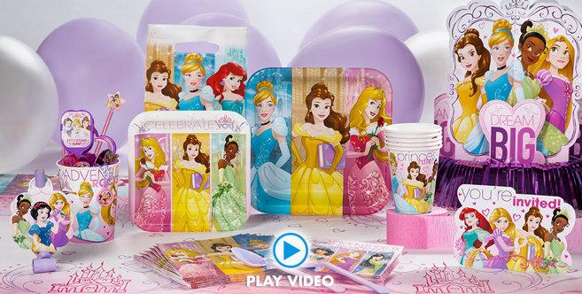 Disney Princess Party Supplies Every Girl Can Be A Princess