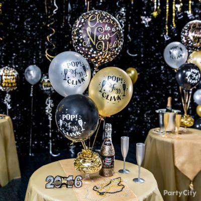 Elegant New Year S Eve Balloon Ideas Party City