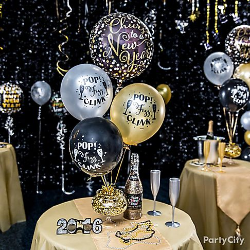 Elegant New Years Eve Balloon Ideas Party City