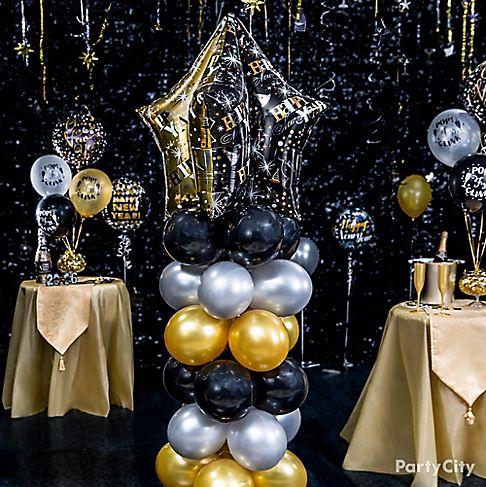 Elegant New Year's Eve Balloon Ideas - Party City