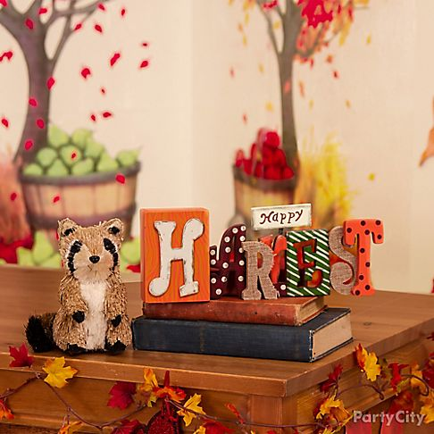 Hello fall class party ideas party city for Autumn classroom decoration