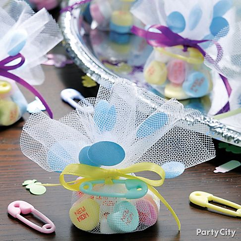 party city baby shower favors