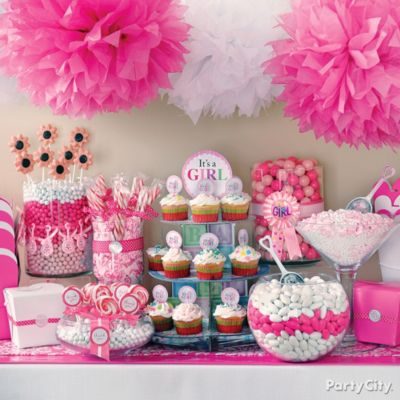 Wedding Decorations on Baby Shower Candy Buffet Ideas   Party City