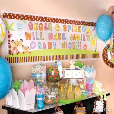 shop baby shower decorations baby shower decorating ideas party city