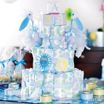 Baby Shower Decorating Ideas Table Decorations For Boy Parties   Decorating  And Remodeling Ideas